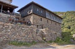 Het Klooster St. George van Glozhene - 13 eeuw, Bulgarije Royalty-vrije Stock Afbeeldingen