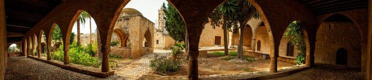 Het klooster van Agianapa in Cyprus Royalty-vrije Stock Fotografie