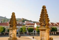 Het klooster van Alcobaca, Portugal Stock Foto's