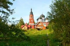 Het klooster van Alexander stock foto's