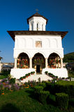 Het Klooster van Aninoasa - Roemenië Royalty-vrije Stock Foto