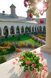 Het Klooster van Aninoasa - Roemenië Stock Foto's
