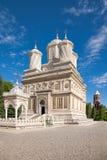 Het Klooster van Arges stock foto's