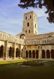 Het klooster van Arles royalty-vrije stock afbeelding