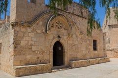 Het Klooster van Ayianapa, Cyprus Royalty-vrije Stock Afbeeldingen