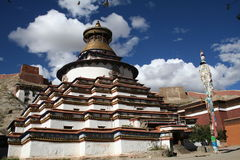 Het klooster van Baiqoi Stock Fotografie