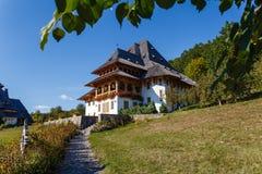 Het Klooster van Barsana Stock Fotografie