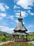 Het Klooster van Barsana in Roemenië Royalty-vrije Stock Foto's