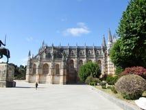 Het klooster van Batalha Stock Afbeeldingen