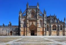 Het Klooster van Batalha. De plaats van Unesco, Portugal Royalty-vrije Stock Afbeeldingen