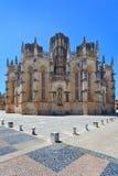 Het Klooster van Batalha. De plaats van Unesco, Portugal Stock Foto's