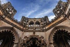 Het Klooster van Batalha, Portugal Royalty-vrije Stock Afbeeldingen