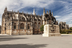 Het Klooster van Batalha, Portugal Stock Foto's