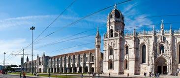 Het klooster van Belem, Portugal Royalty-vrije Stock Foto