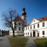 Het klooster van Brevnov in Praag Royalty-vrije Stock Afbeeldingen