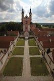 Het klooster van Camaldolian in Wigry Stock Afbeelding