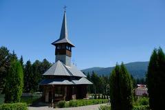 Het klooster van Caraiman Royalty-vrije Stock Foto's