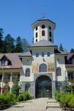 Het klooster van Caraiman Stock Afbeelding