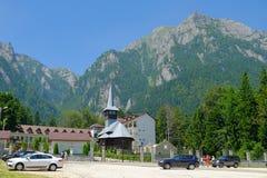 Het klooster van Caraiman Royalty-vrije Stock Foto
