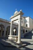 Het klooster van Cassino van Monte Royalty-vrije Stock Fotografie