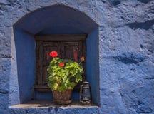 Het klooster van Catalina van de kerstman, Arequipa, Peru Royalty-vrije Stock Foto's