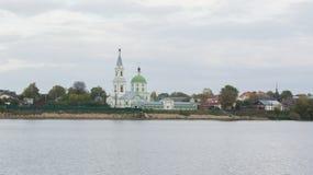 Het klooster van Catherine in Tver royalty-vrije stock afbeeldingen