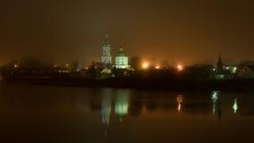Het klooster van Catherine in Tver stock foto's