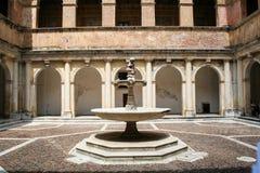 Het klooster van chartreuse royalty-vrije stock foto's