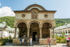 Het klooster van Cozia Stock Afbeelding
