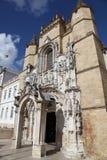 Het Klooster van Cruz van de kerstman - Coimbra Portugal Royalty-vrije Stock Foto