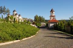 Het klooster van Curchi in Moldova stock foto
