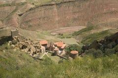 Het klooster van David Gareja Royalty-vrije Stock Afbeeldingen