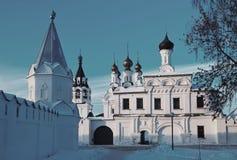Het Klooster van de aankondiging in Murom stock foto