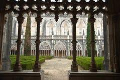 Het klooster van de kathedraal in Batalha Stock Fotografie