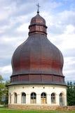 Het klooster van de kerk dichtbij neamt in Moldavië Stock Foto
