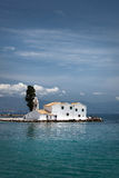Het klooster van de Stadsvlacherena van Korfu, Griekenland Royalty-vrije Stock Foto's