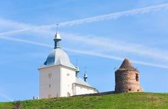 Het klooster van de transfiguratie in de Oekraïne royalty-vrije stock afbeelding