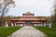 Het Klooster van de Yen van Chuang stock afbeeldingen