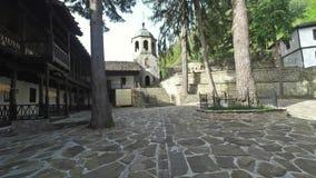 Het Klooster van Dormition van de Heiligste Moeder van God stock footage