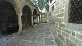 Het Klooster van Dormition van de Heiligste Moeder van God stock videobeelden