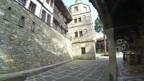 Het Klooster van Dormition van de Heiligste Moeder van God stock video