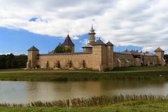 Het Klooster van Dragomirna stock fotografie