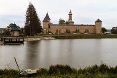 Het Klooster van Dragomirna stock foto's