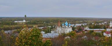 Het klooster van een Znamensky-wijfje royalty-vrije stock foto's