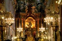 Het klooster van Gora van Jasna Stock Foto