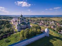 Het klooster van Goritsky stock afbeeldingen