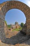 Het Klooster van Gradac stock afbeeldingen