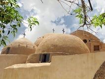 Het klooster van heilige Bishoy Stock Foto's