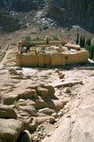 Het Klooster van heilige Catherine stock afbeeldingen