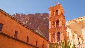 Het Klooster van heilige Catherine ` s Sinai Schiereiland Egypte stock footage
